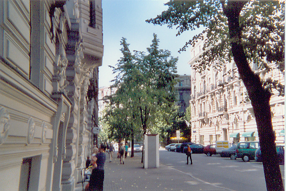 Riga, famous for its Jugenstil (Art Nouveau).