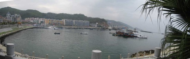nan ao harbor panoramic view