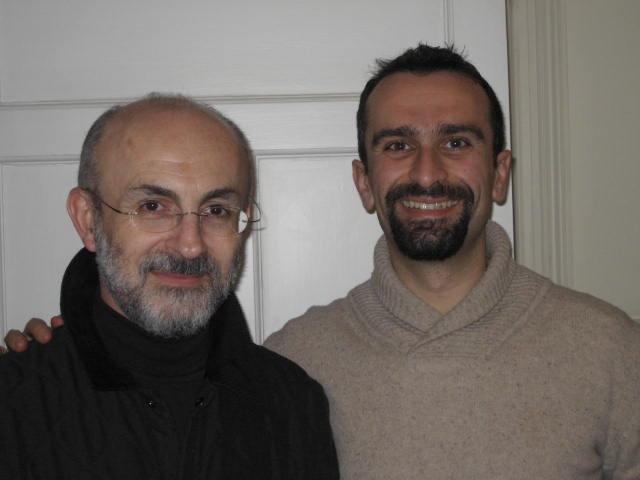 Fr Theonas Bakalis & George Manginis.JPG