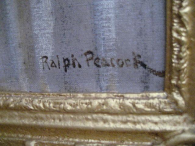 artist Ralph Peacock
