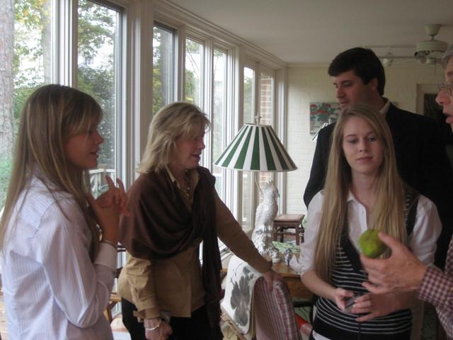 3 Cooke women with nephew