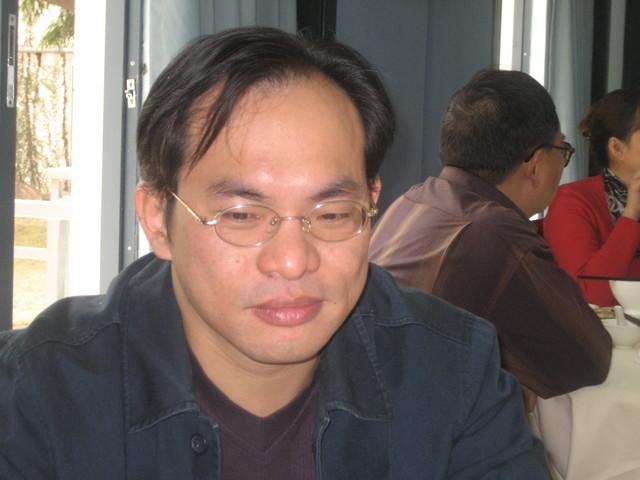 morning tea, 5 Jan 2008: Mr. C [Cai] '87 class