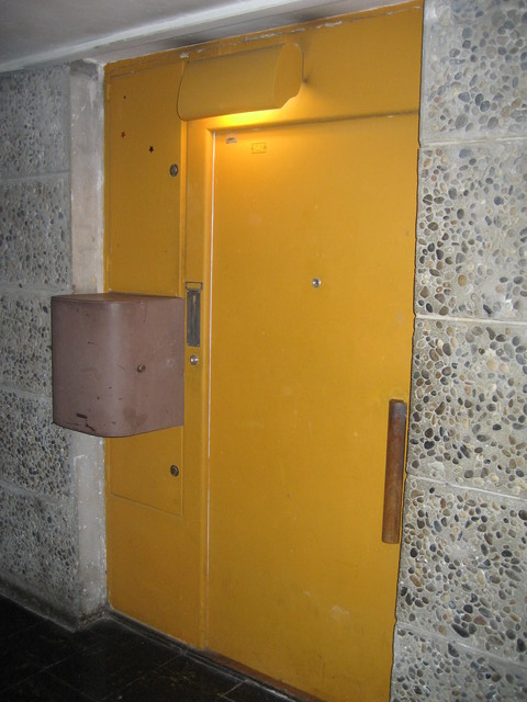 entrance to an apartment