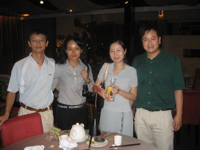 Mr & Mrs Huang, Mr & Mrs Chen