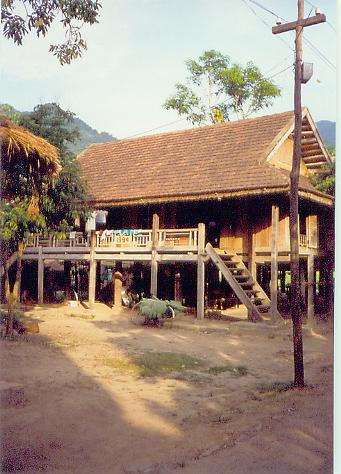 Mai Chau village.