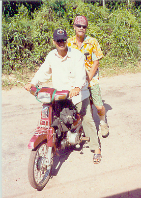 I took a motor cycle tour one day...which beats cycling if one survives to tell about it