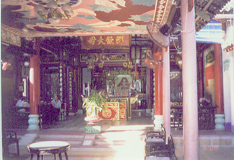 Hoi An - Fujian Chinese Congregation interior