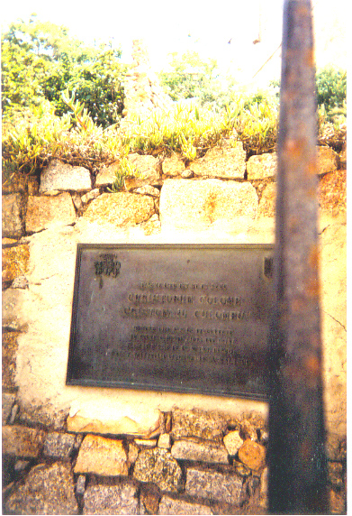birthplace of Christopher Columbus (so says the placque), who was born several places around the Mediterranean
