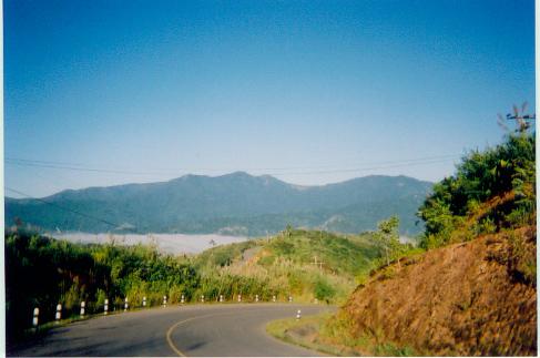 border with Burma