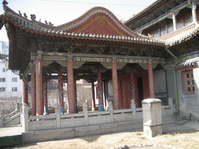 Museum of Choijin Lama, former monestery for a sect whose art work is obsessed with death in a very  grusome form