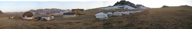 panoramic view: Ayanchin Lodge, Terelj National Park